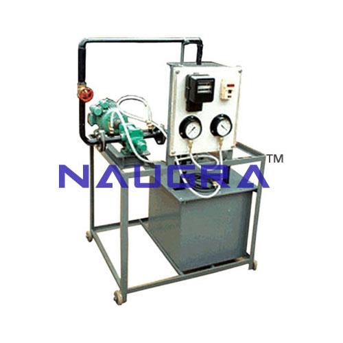 Hydraulic Laboratory Setup