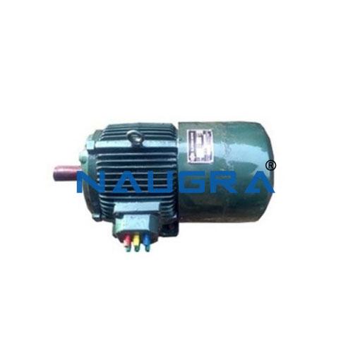 Three-phase Dahlander motor