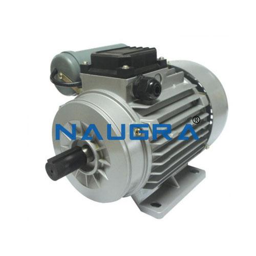 Single-phase AC-motor