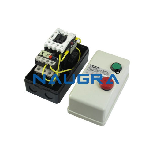 Switch and push-button Unit for contactor controls