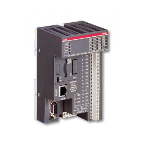 System connector module for PLC