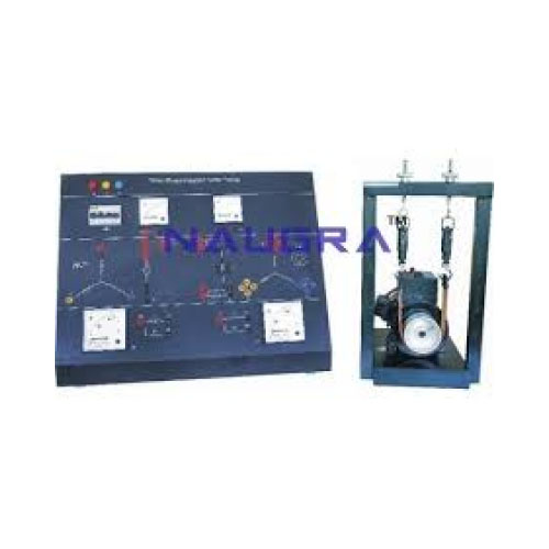 Three Phase Induction Motor Electrical Trainer