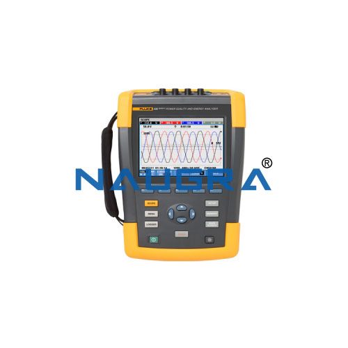 Three Phase Power Quality Meter with display and long-term memory