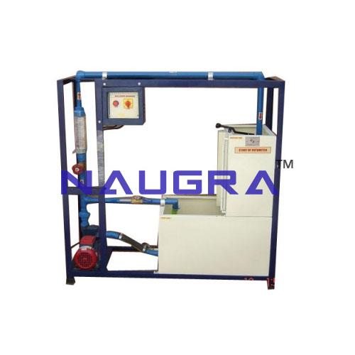 Rota Meter Test Apparatus