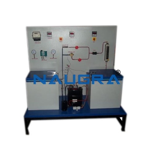 Mechanical Heat Pump Test Rig