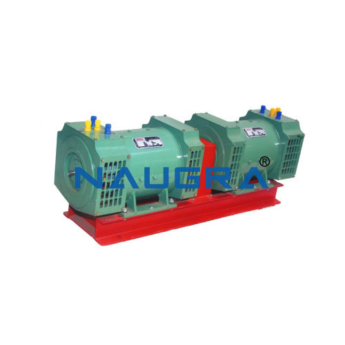 Three-phase multi-function Slip-rings machine (Generator)