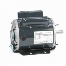 Reluctance motor with thermal protection