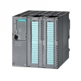 PLC unit with power supply