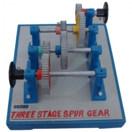 Three Stage Spur Gear